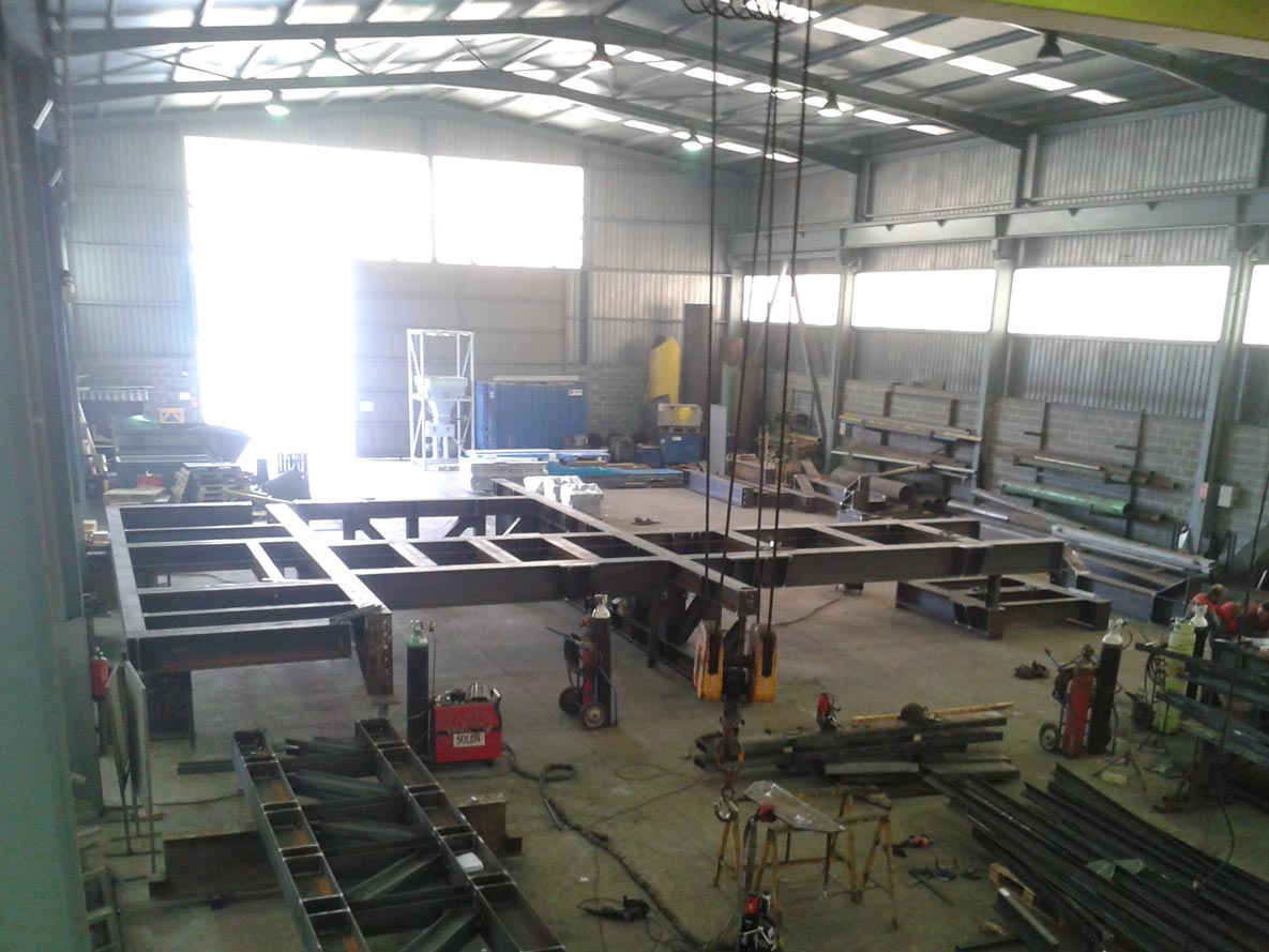 Cimisa construcciones industriales montajes e ingenier a for Construcciones industriales