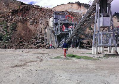 Sandvik - Dirección montaje cantera en Guatemala