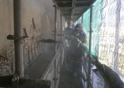Saint-Gobain - Reparación fachadas hormigón Edificio composición
